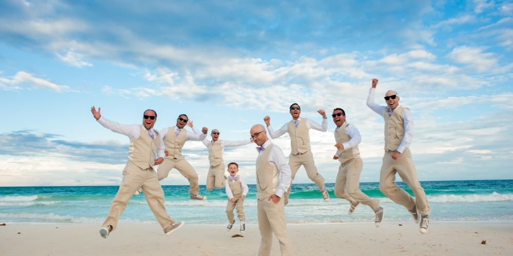 Riviera Maya Best Wedding Momments Photographer